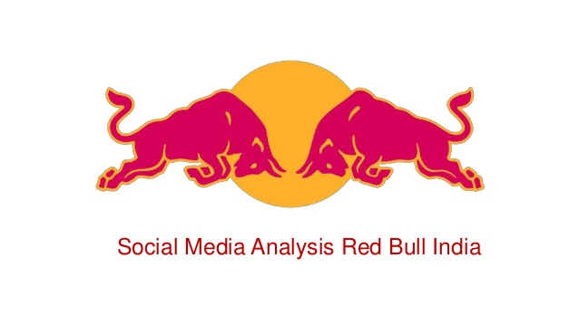 Red Bull clipart indian  Media Analysis Social Red
