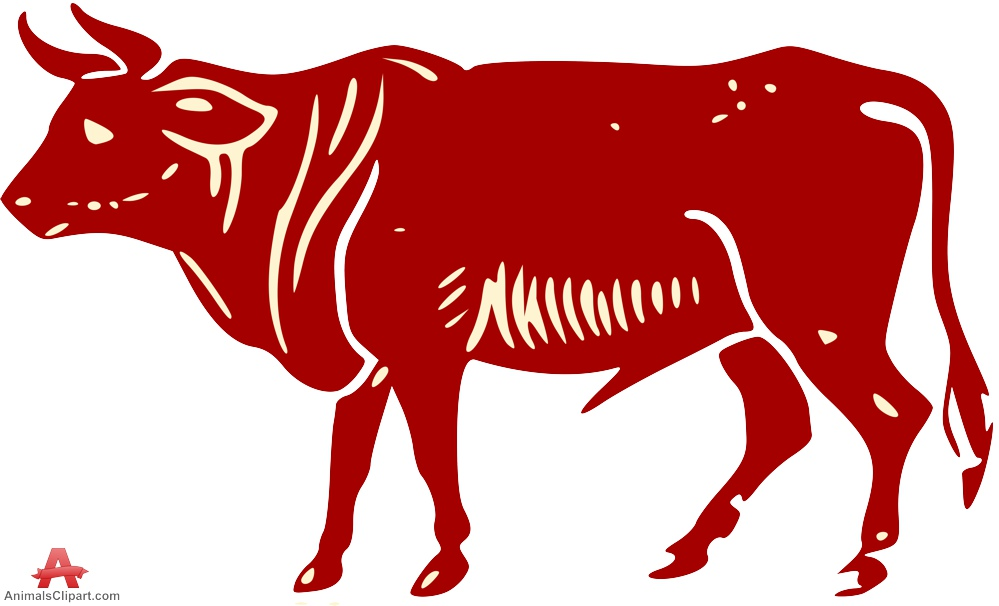 Red Bull clipart outline Red Clipart Horns keywords with