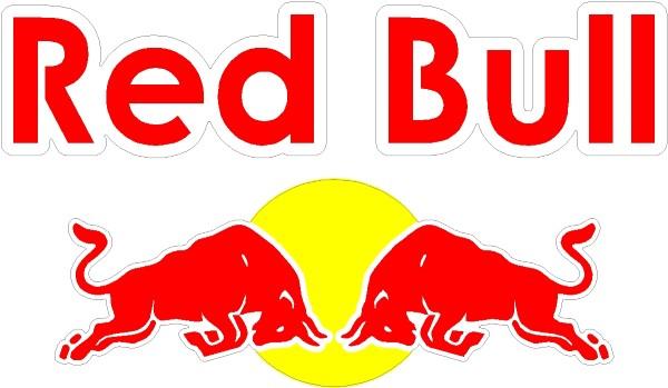 Red Bull clipart outline Full BULL Bull STICKER DECAL