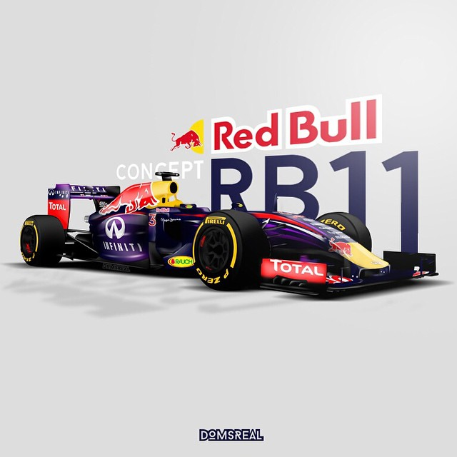 Red Bull clipart rbr RB11 : RBR formula1 concept