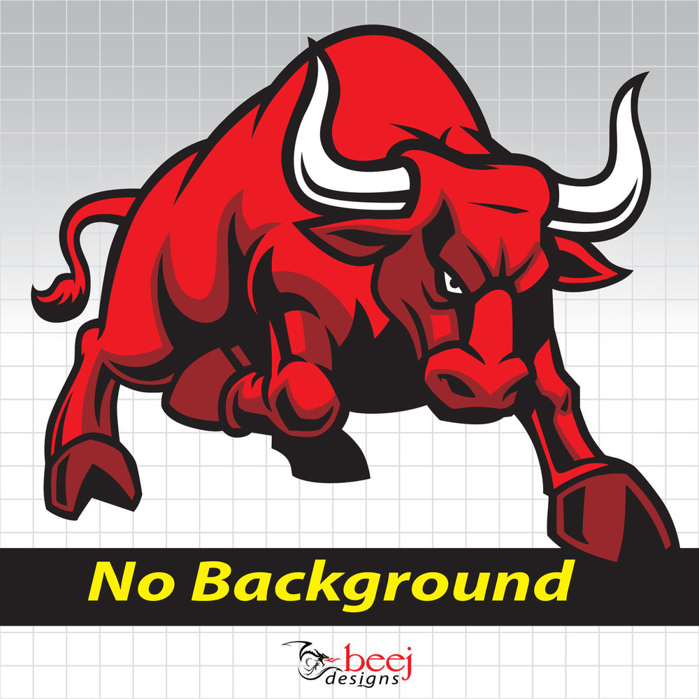 Red Bull clipart redbul Angry Bull Angry Decal Rodeo