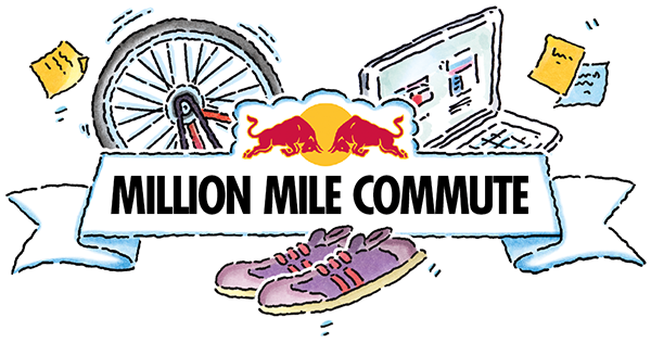 Red Bull clipart running bull You a Commute cycling Mile