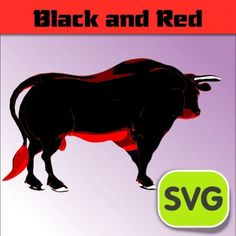 Red Bull clipart seladang Svg The ideas catalog world's