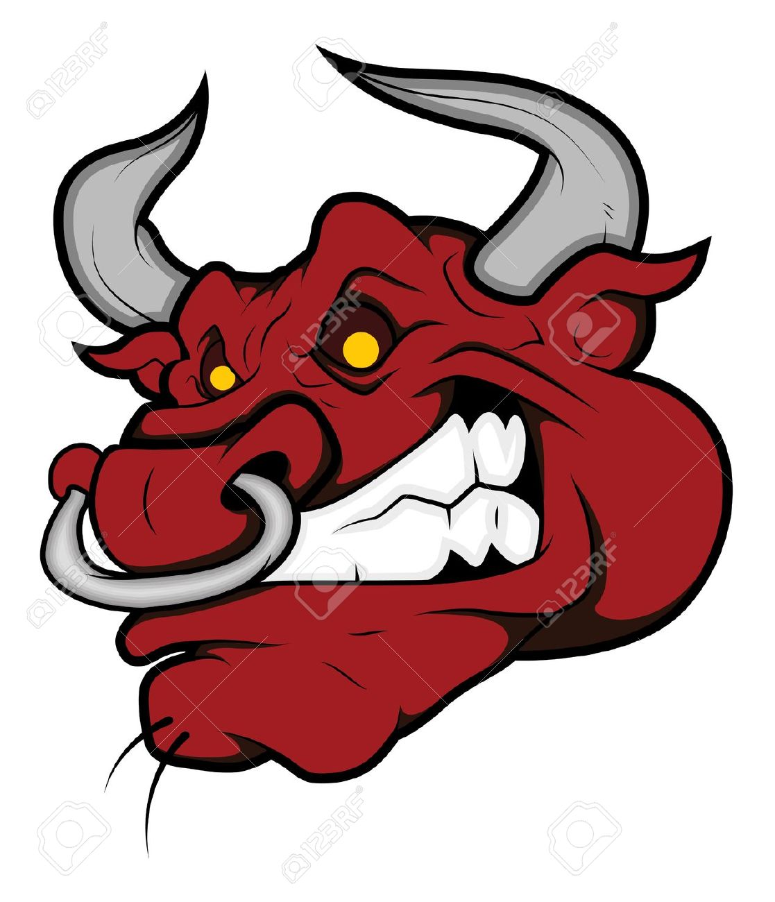 Ox clipart raging bull Pin BB Stock on Team