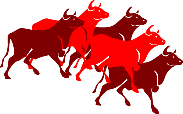 Bull clipart spanish bull This Stampede com Download Art