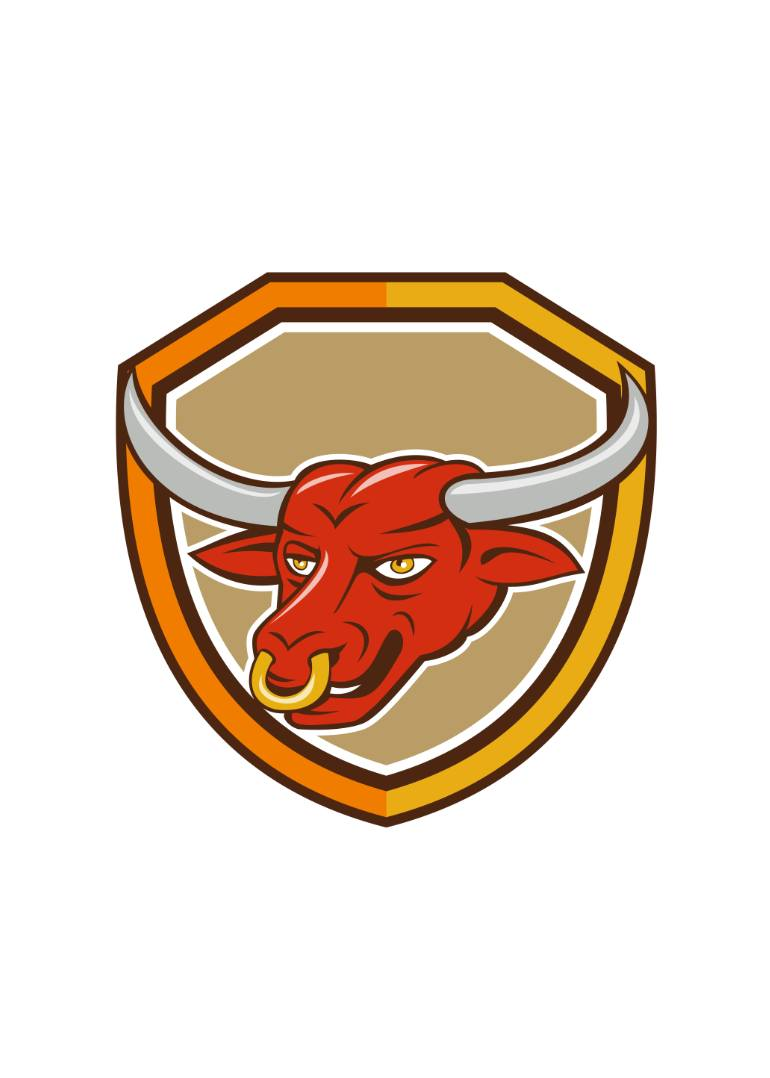 Red Bull clipart texas Longhorn Media Red Red Cartoon