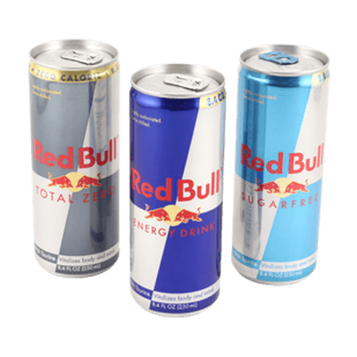 Red Bull clipart transparent Red transparent Red Can PNG