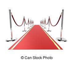 Red Carpet clipart Carpet red carpet a rendered