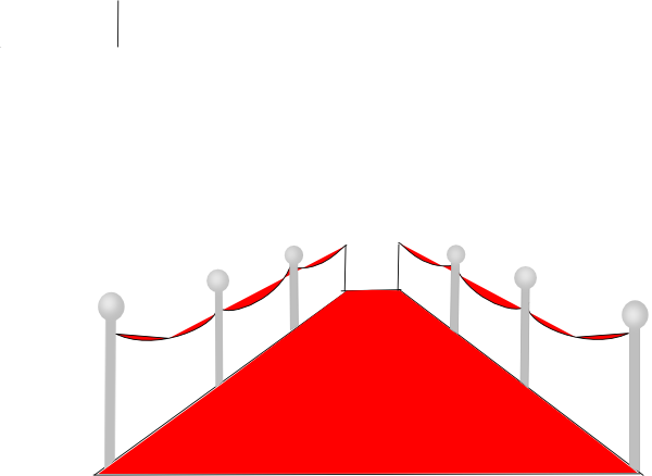 Red Carpet clipart Clip this Clker Art Red