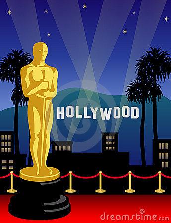 Trophy clipart award ceremony Academy Academy Awards Clip Awards
