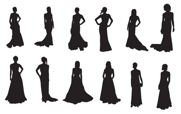 Red Carpet clipart black and white Red Carpet silhouettes Download 000
