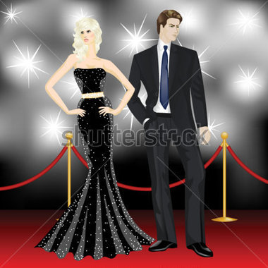 Red Carpet clipart black and white Panda Free Clipart Clipart Clip