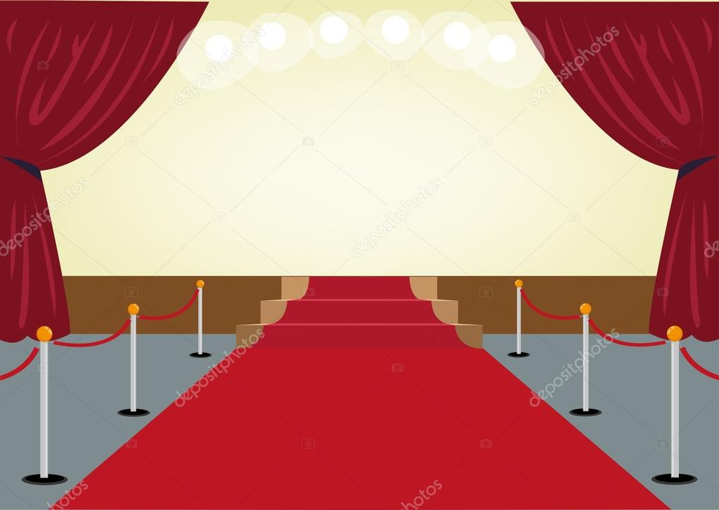 Red Carpet clipart border #4