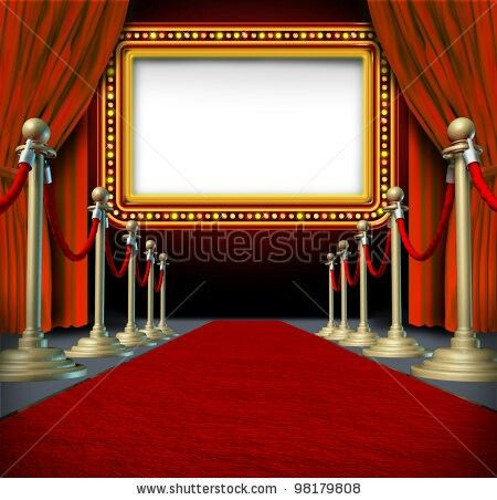 Red Carpet clipart border #12
