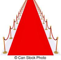Gala gold red carpet