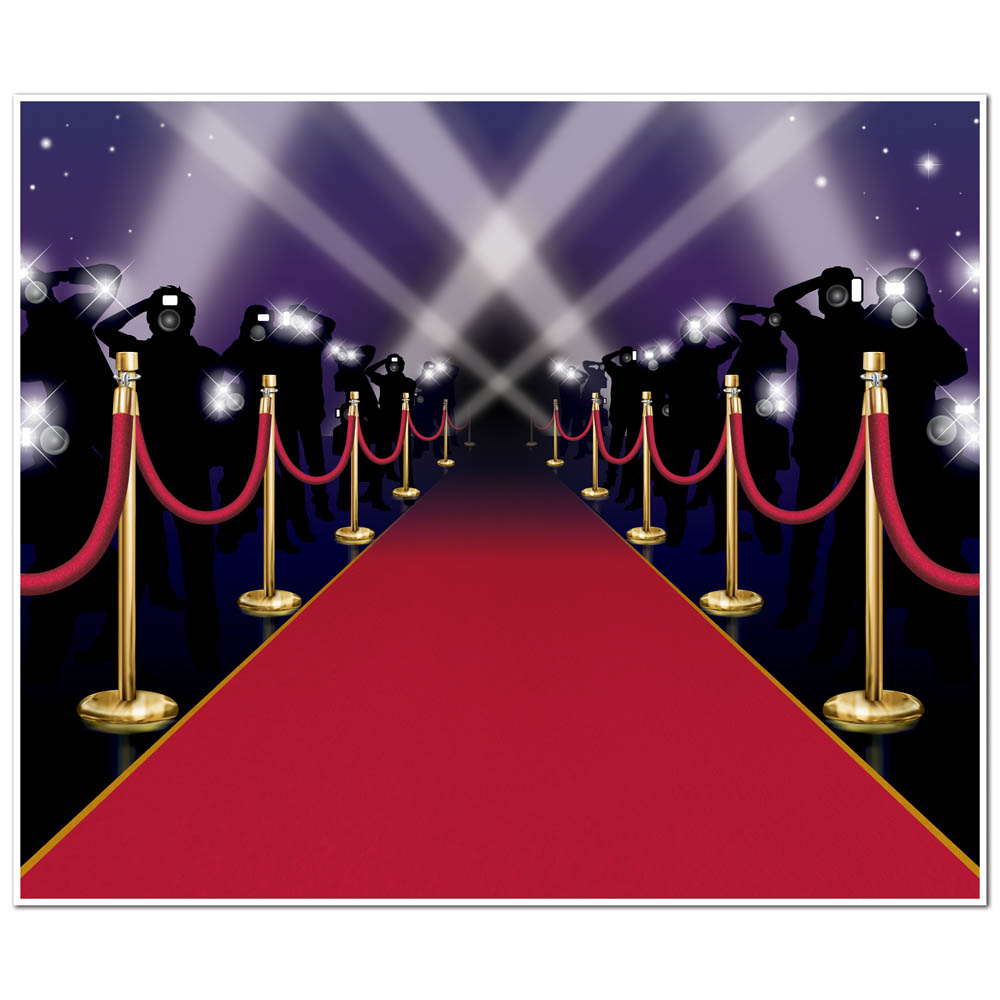 Carpet clipart hollywood red carpet VIP 6ft Red Party Red