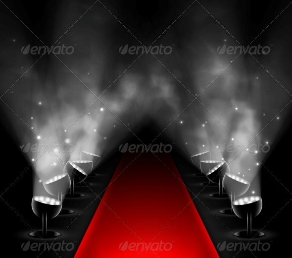 Red Carpet clipart hollywood light For Clipart Premiere Pix Raving