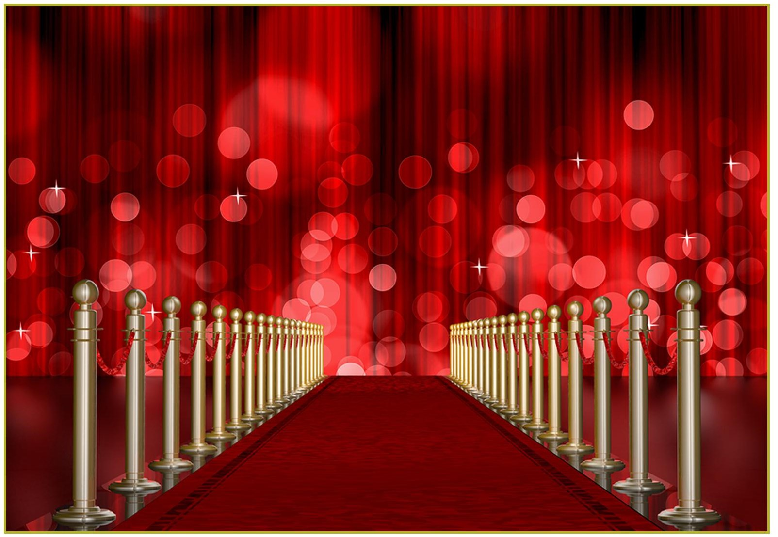 Red Carpet clipart hollywood light Red 108 1 celebrity Favors/Promotional