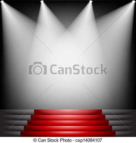 Red Carpet clipart hollywood spotlight #1