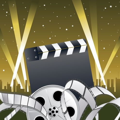 Background clipart hollywood #7
