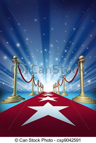 Red Carpet clipart movie star Movie to Red Carpet Red