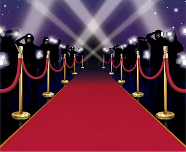 Red Carpet clipart movie star Movie Star Cliparts Zone Star