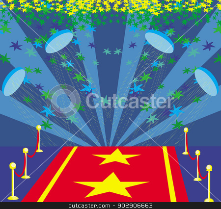 Red Carpet clipart symbol Carpet red on a representing