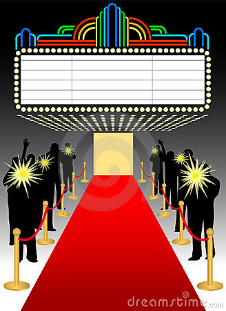 Red Carpet clipart symbol Hollywood Collection star symbol star