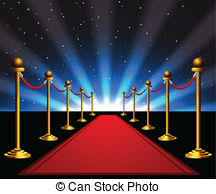 Red Carpet clipart symbol The to Clipart of movie