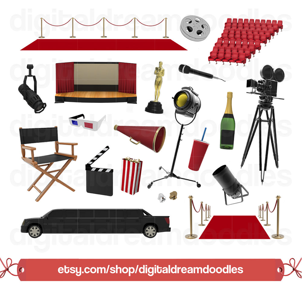Red Carpet clipart theater art #5