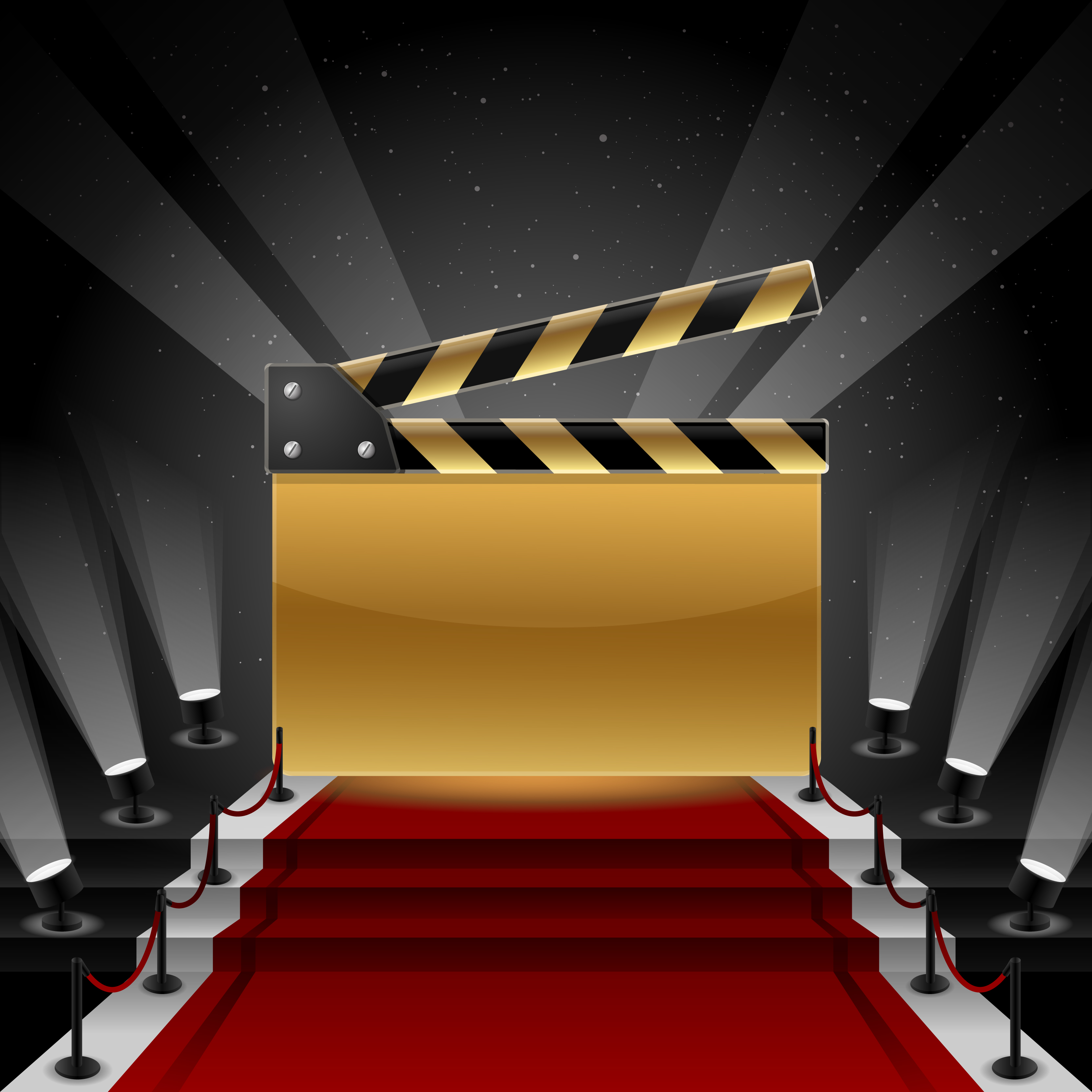 Red Carpet clipart theater art #2