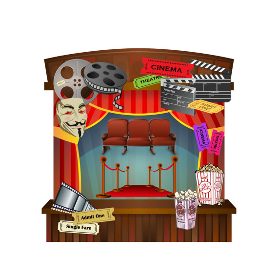 Red Carpet clipart theater art #10