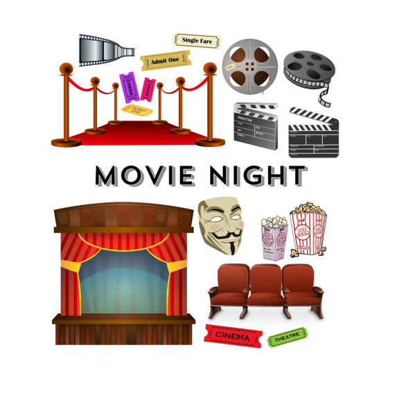 Red Carpet clipart theater art #4