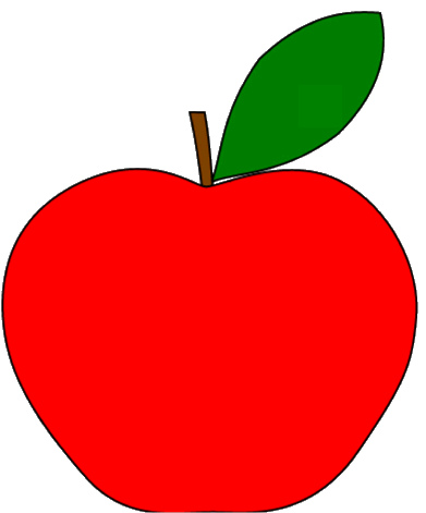 Apple clipart red apple Clipart Images Clipart Apple Free