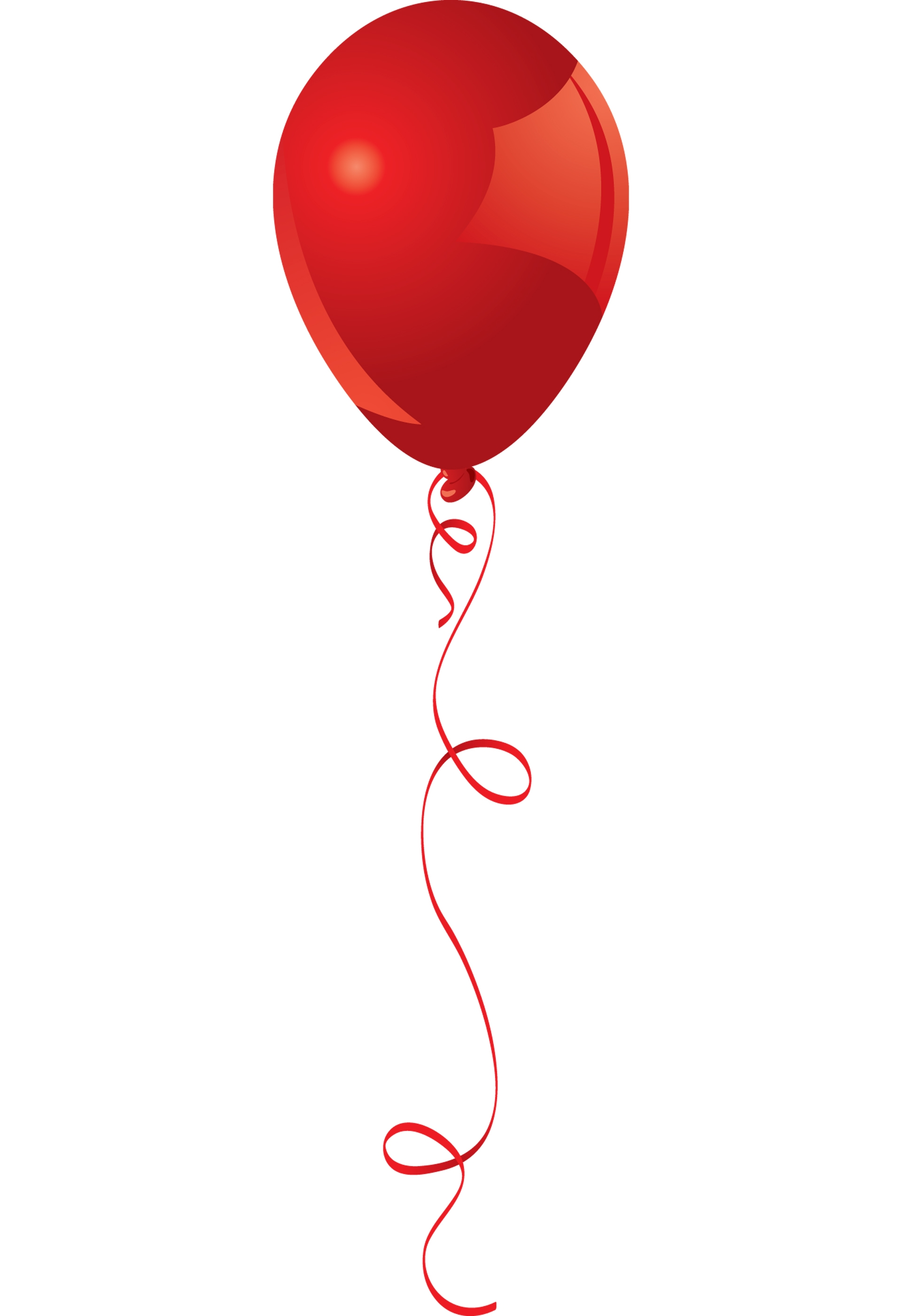 Red clipart baloon #9