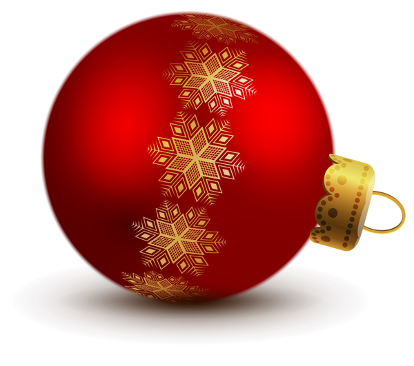 Red clipart christmas ball #15