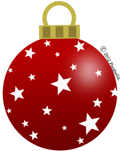 Red clipart christmas ball #12