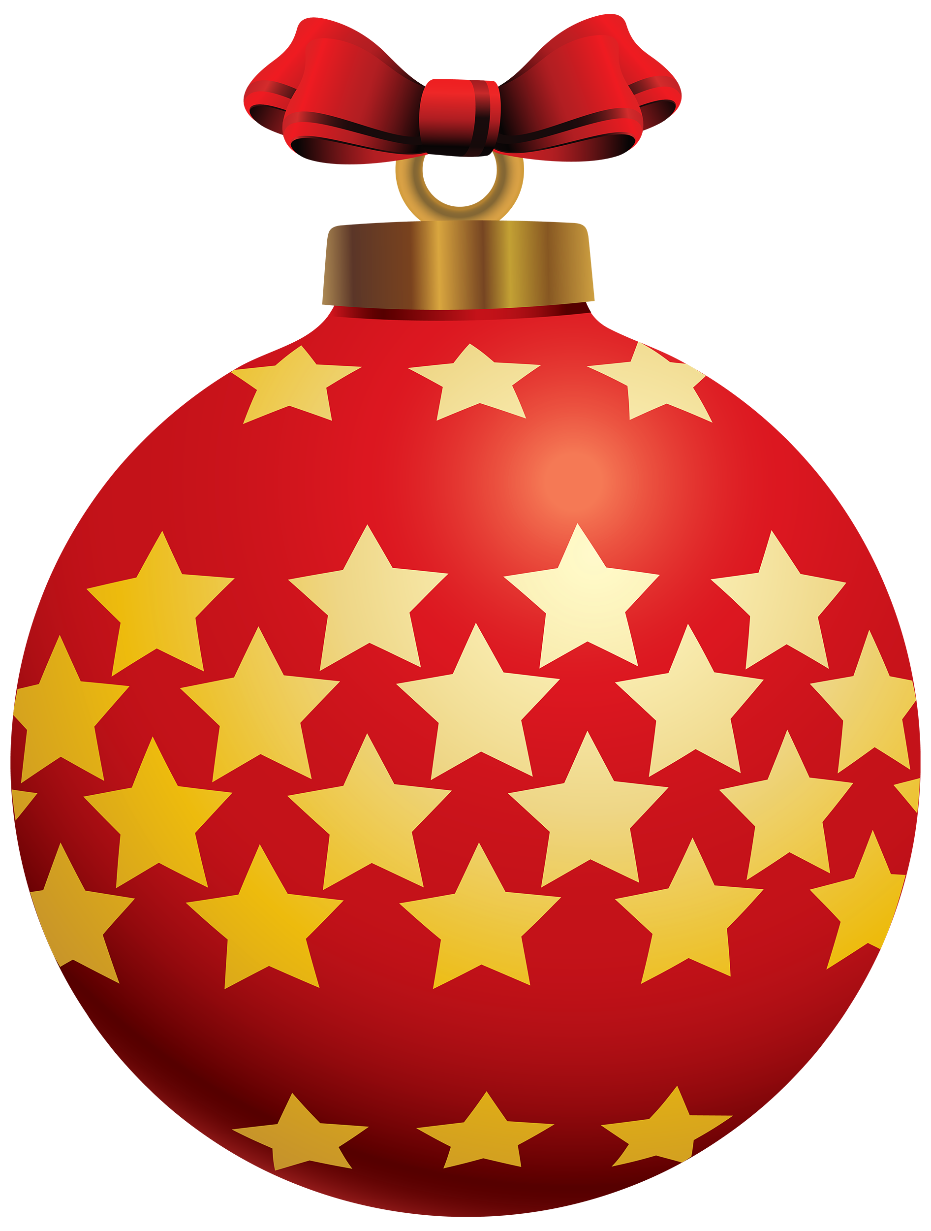 Red clipart christmas ball #8
