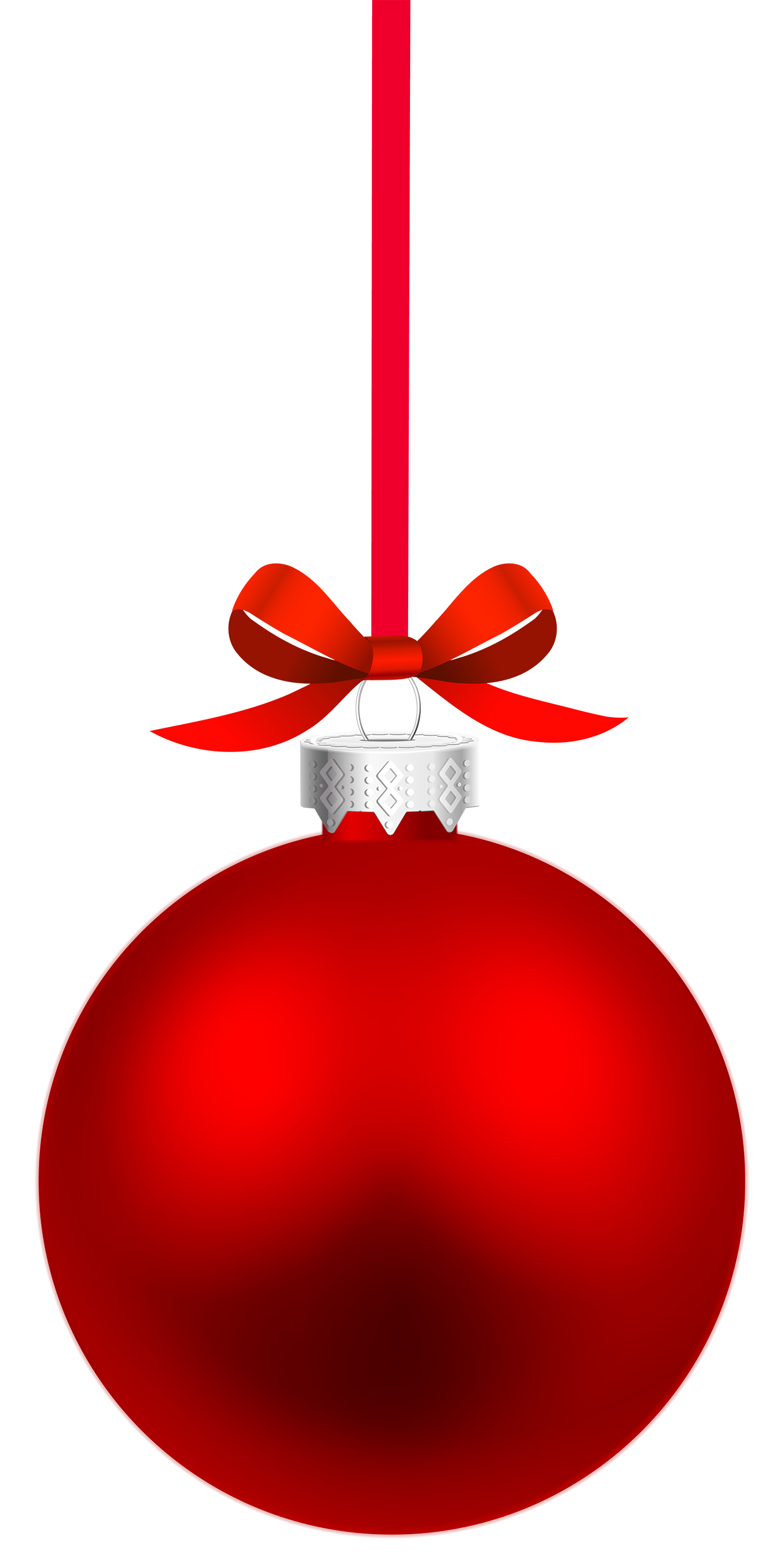 Red clipart christmas ball #14