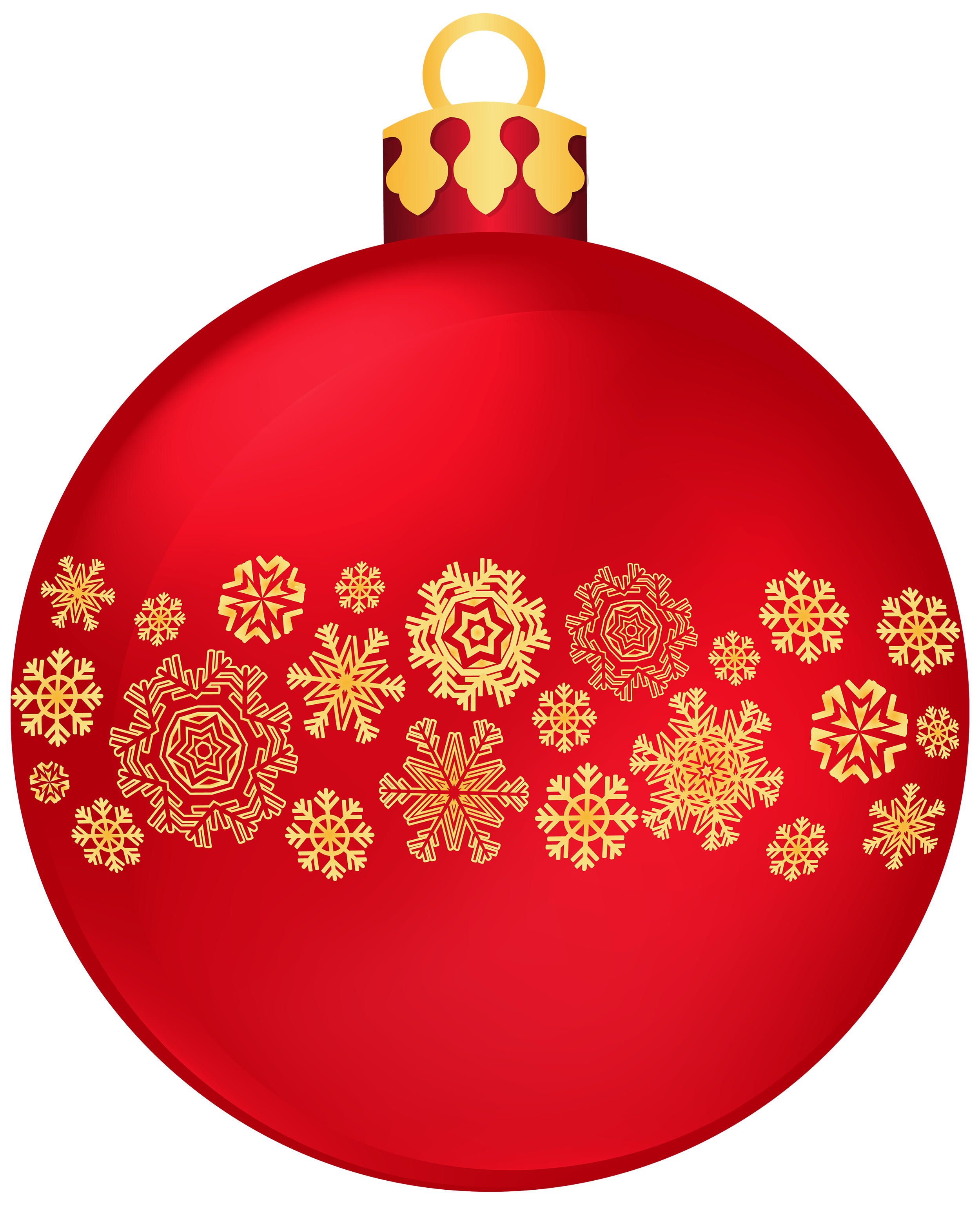 Red clipart christmas ball #11
