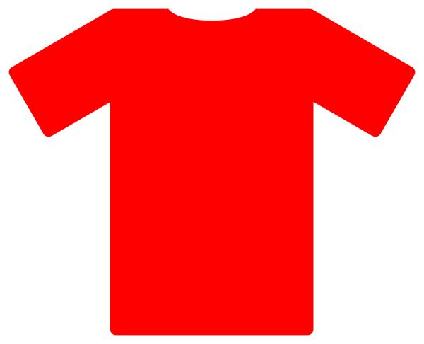Shirt clipart soccer uniform Soccer this Red Jersey art