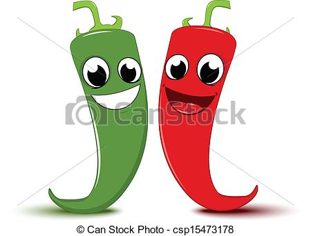Red clipart green chili #10