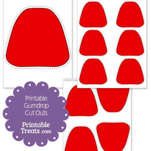 Red clipart gumdrop #11