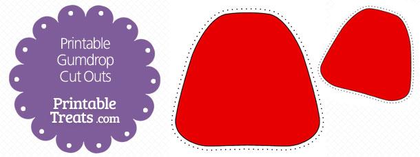 Red clipart gumdrop #10
