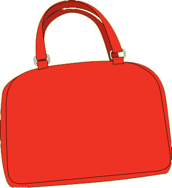 Bag clipart shoulder bag This Clipart Free This red