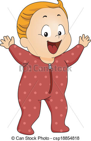 Red clipart pajama #8