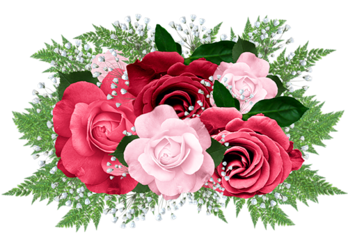 Bouquet clipart pink rose bouquet Rose Best Pink FLOWERS and