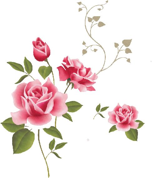 Red Flower clipart swag Pin Rosas Roses Rosas on