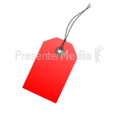 Red clipart price tag #12