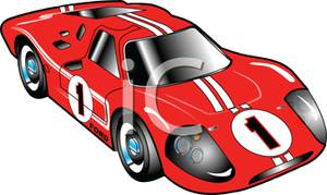 Race Car clipart red Car Race Picture White Car